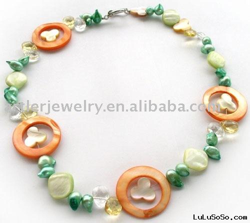 Natural sea shell jewelry