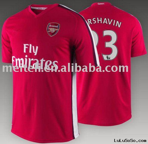 New style 100% polyester Soccer Jersey / Uniform for 2011/2012
