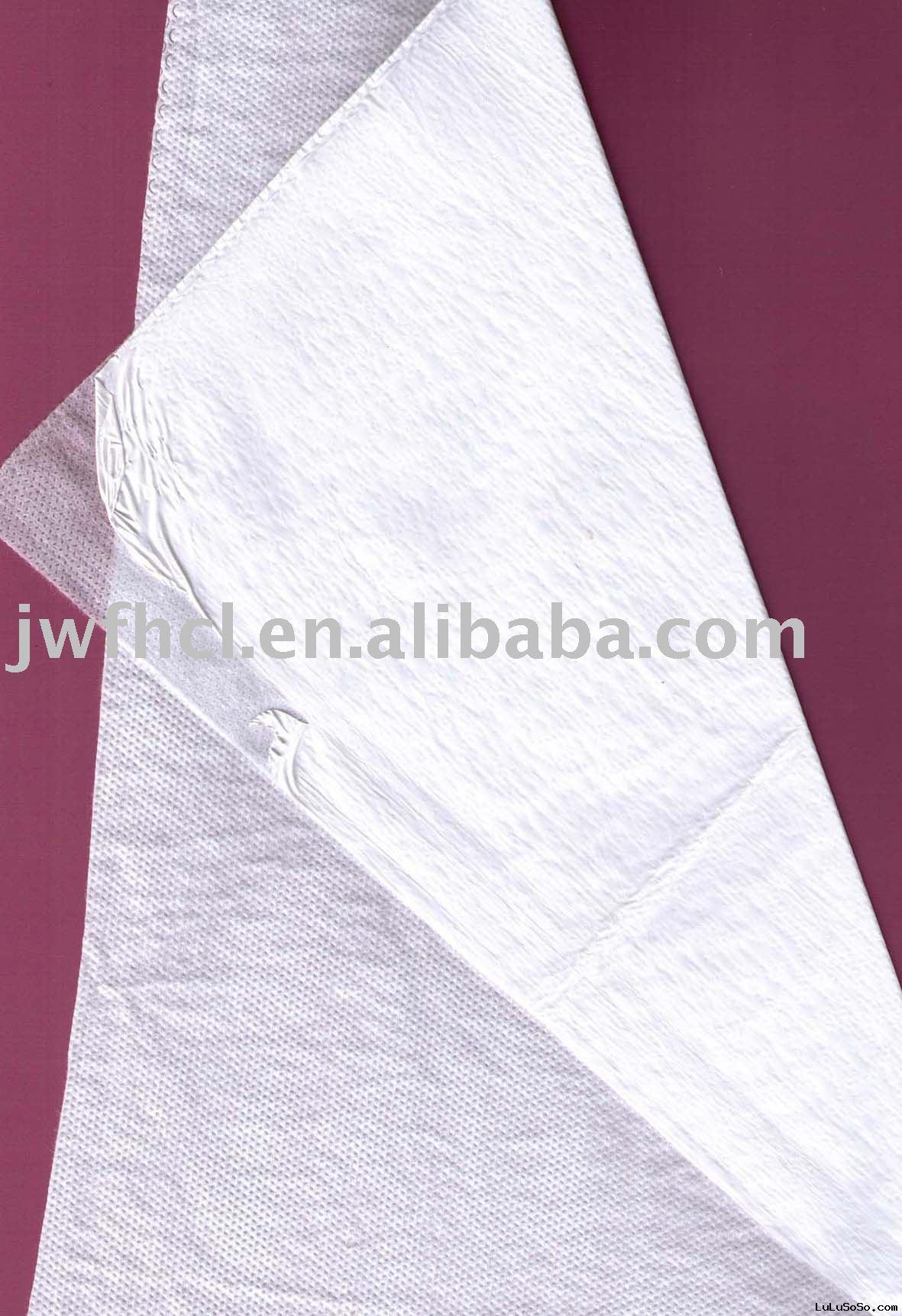 PE breathable film laminated with PP nonwoven fabric,waterproof and breathable membrane
