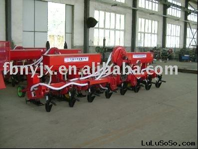Precision air-suction seeder