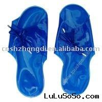Reusable gel cool  pad/ cold slipper