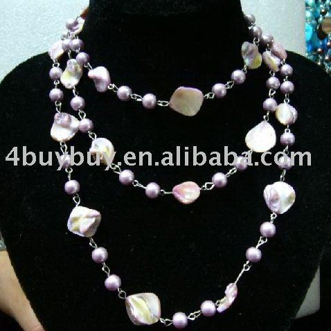 Shell necklace, jewelry necklace