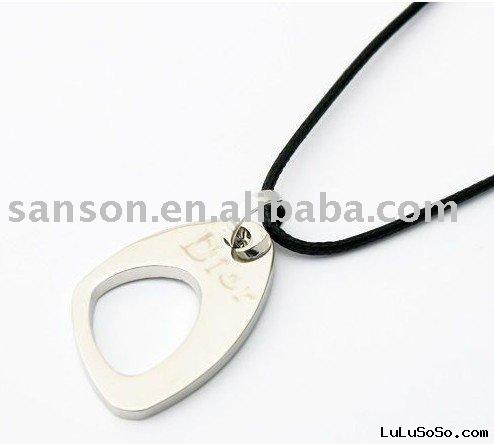 Stainless Steel Necklace - Cookies