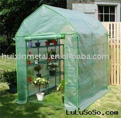 big size with shelving inside design tube greenhouse kits HX54018E