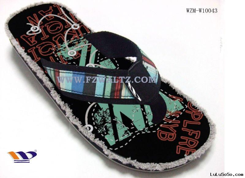 cool design man slippers shoes