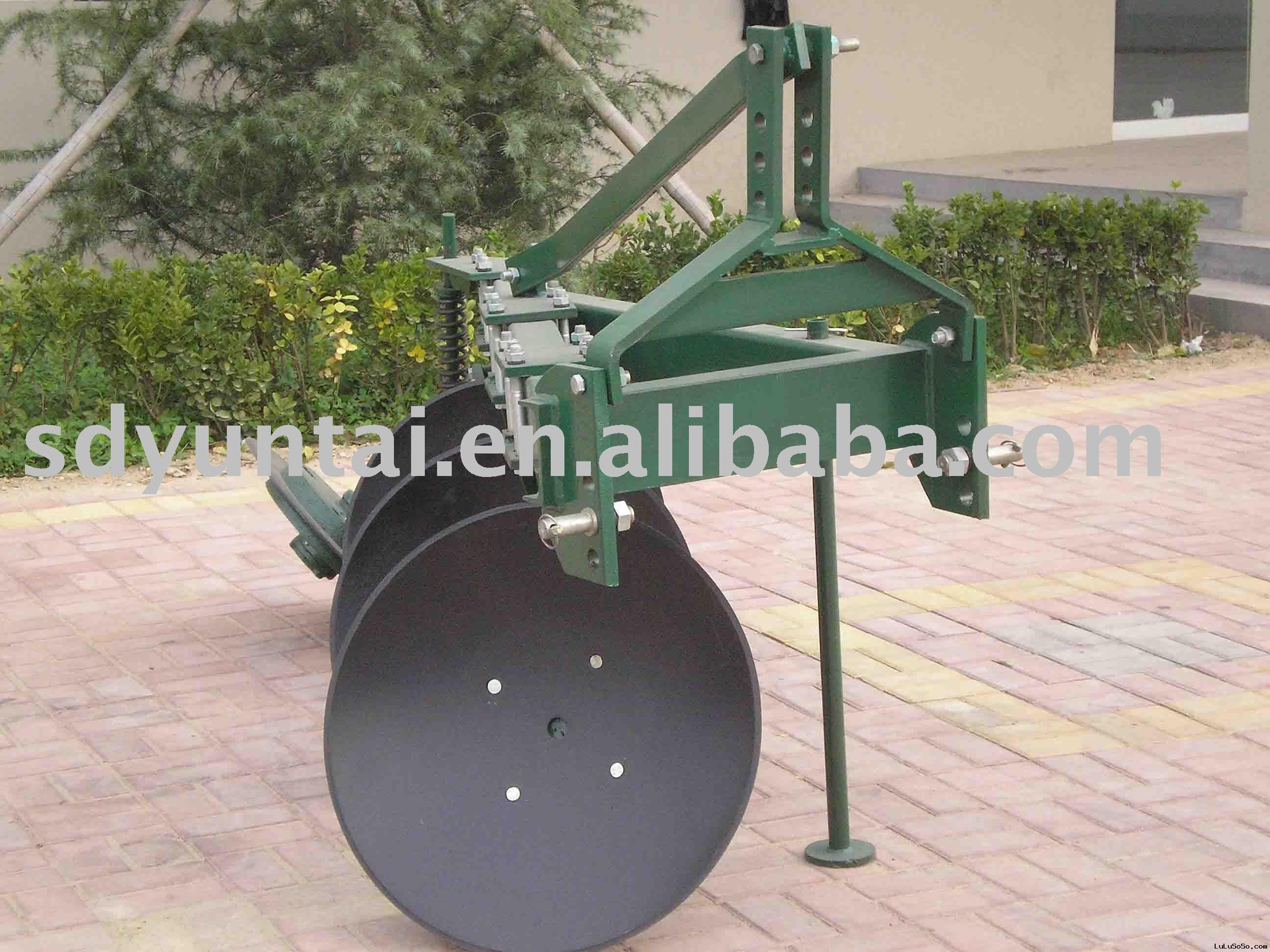 disc plough, agricultural equipment