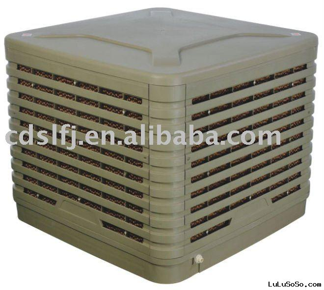 evaporative cooler for greenhouse