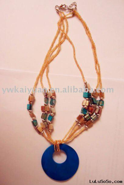 fashion mop shell necklace