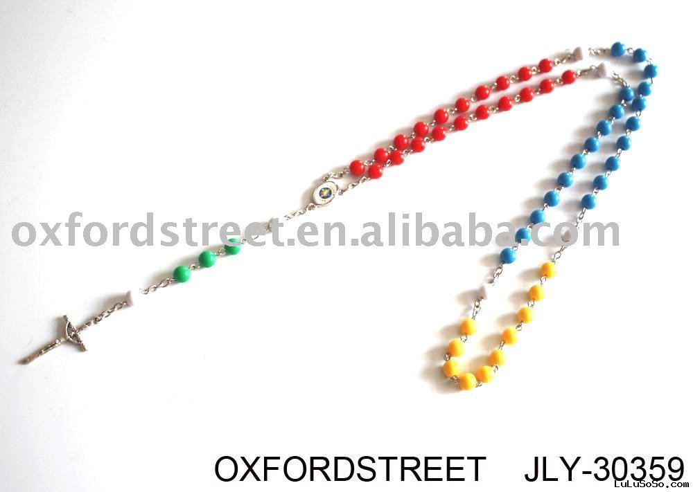 fashion rosary necklace jewelry