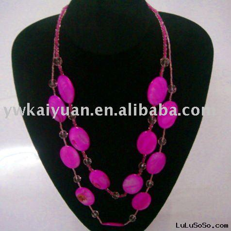 fashion style natural shell necklace