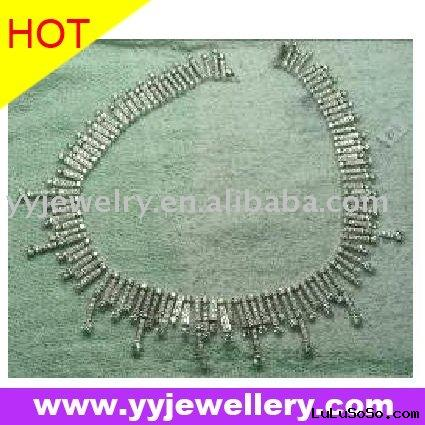 fine 14K diamond necklace