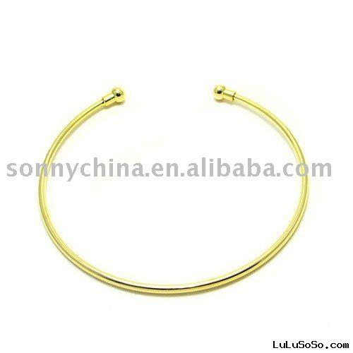 gold Necklace simple style without pendant