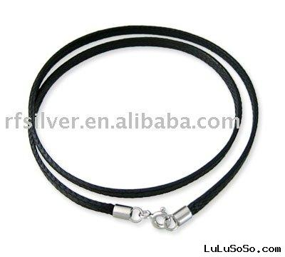 leather necklaces cord