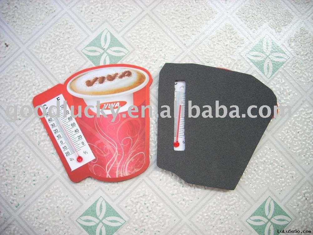 manufacture decorative thermometer,fridge magnet(promotional gifts)