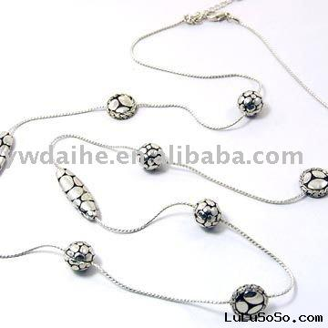 necklace chain with ball
