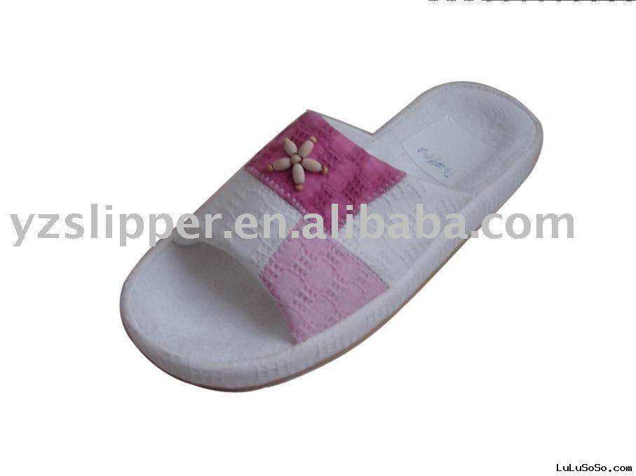 open toe  slipper