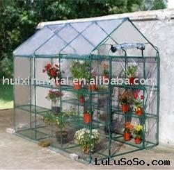 perfect design with plastic cover tube green house kits HX54026B