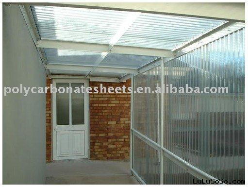 polycarbonate canopy,pc awning,construction material