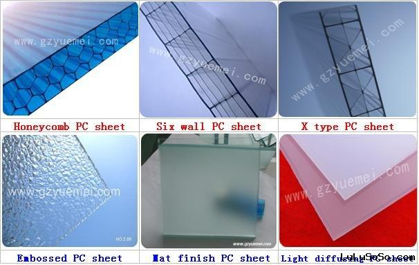 Polypropylene Building Material : Polycarbonate canopy pc awning construction material for