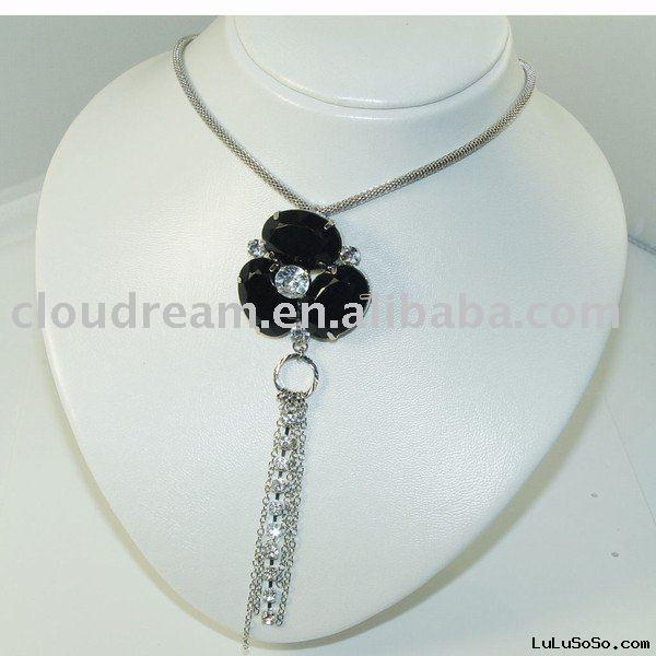 rosary fashion necklace