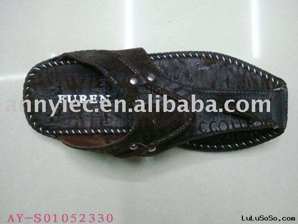 stock men's slipper