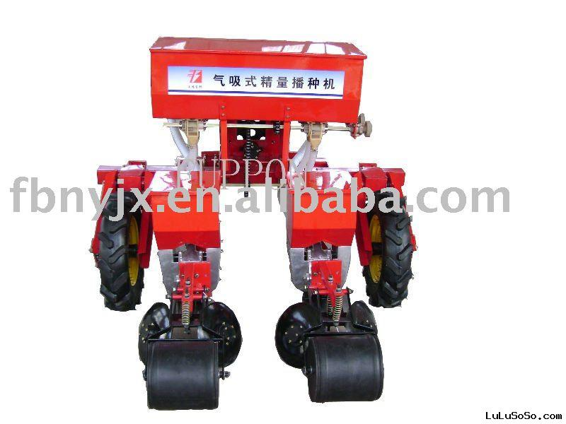 supply double seeding air suction accurate seeder