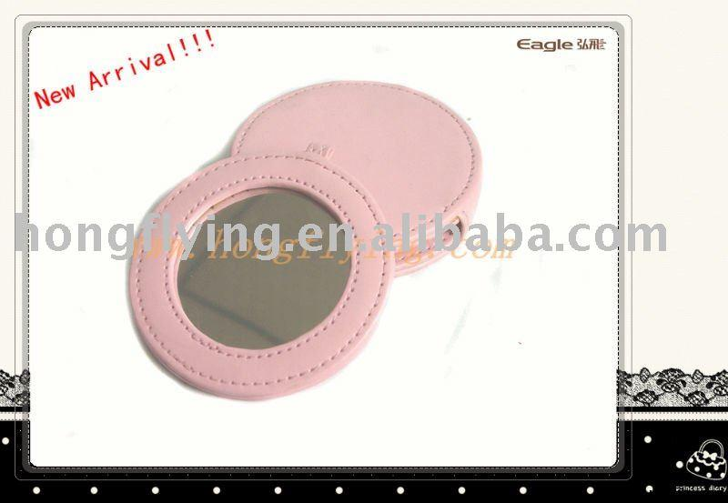 2011 hot hot hot sell Leather compact mirrors