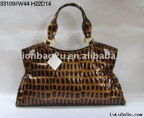 2011 new crocodile-stamp leather shoulder bag Paypal!!!
