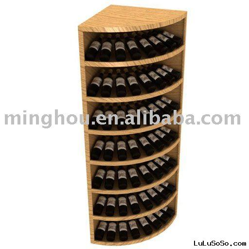 56 Bottle corner table Wine  Rack
