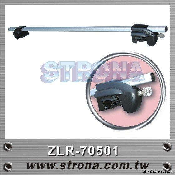 ALUMINUM ROOF RACK MOUNT ON ROOF SIDE RAIL WITH LOCK SYSTEM