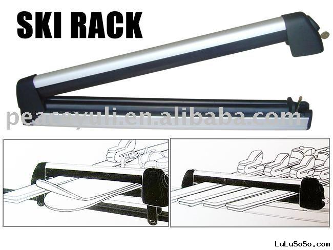 Aluminium Car Roof Ski Rack Ski Carrier Snow Board Rack