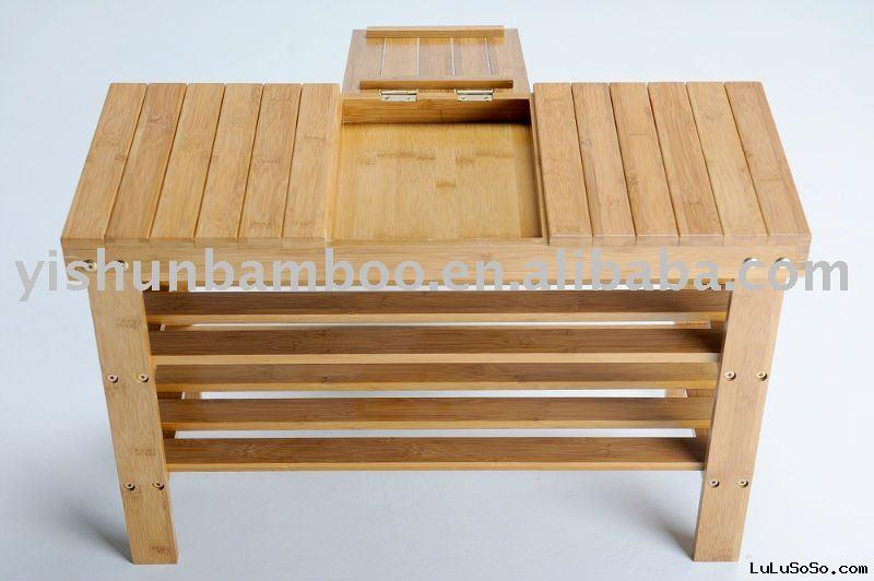 Bamboo Shoes Rack