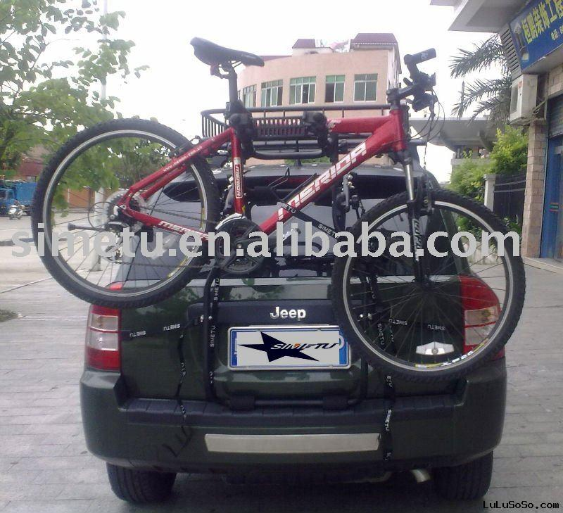 Bike rack for Jeep