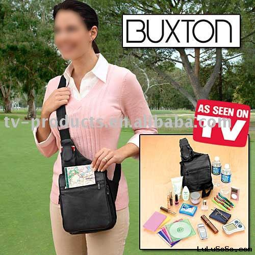 Buxton Over Shoulder Organizer,Shoulder Bag