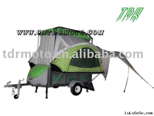 Camper Trailer ( travel model , transport model , camping model )