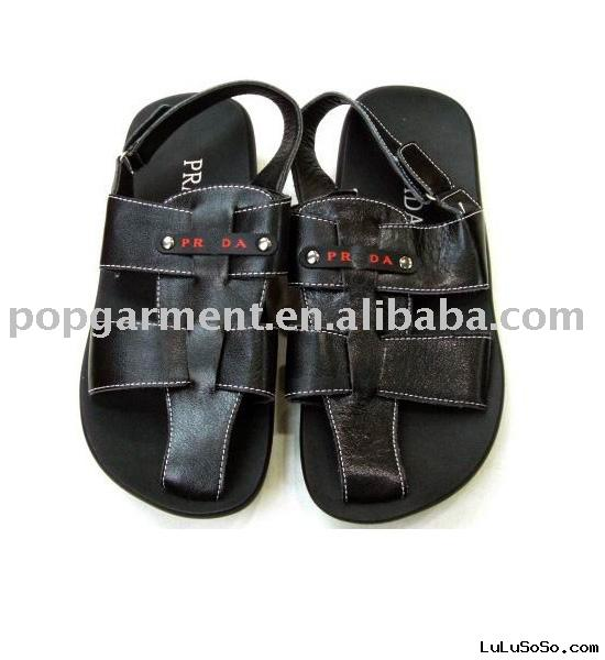 Designer Men's Leather Sandals