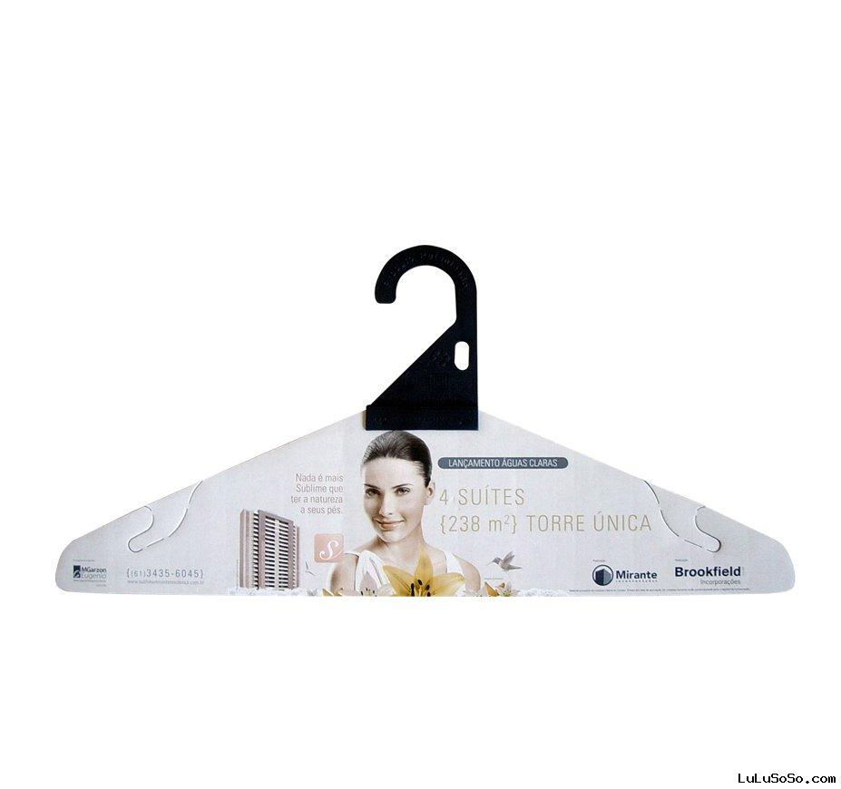 FSC recycled paper hangers