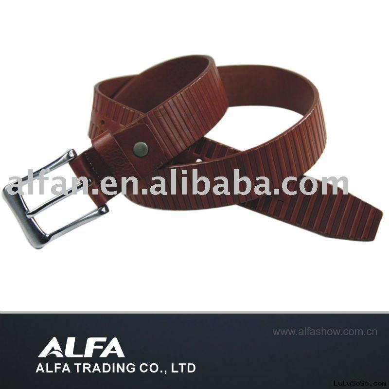 Fossil Leather Belt With Genuine Leather