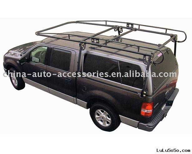 Full Size Camper Shell Contractors Rack (Fits Long-Short Bed)