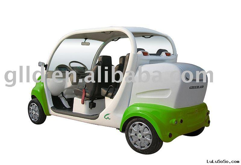 Greenland smart electric car with 4 seats
