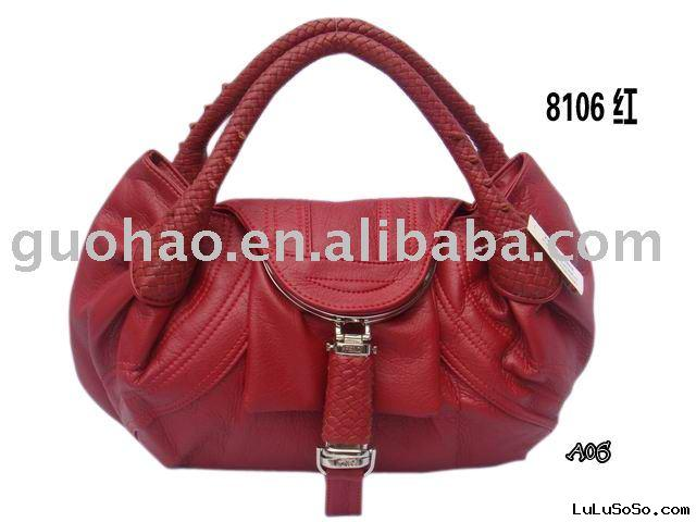 Hot Sale Red Leather Bags,Fashion Bags,Name Brand Bags,Designer Bags
