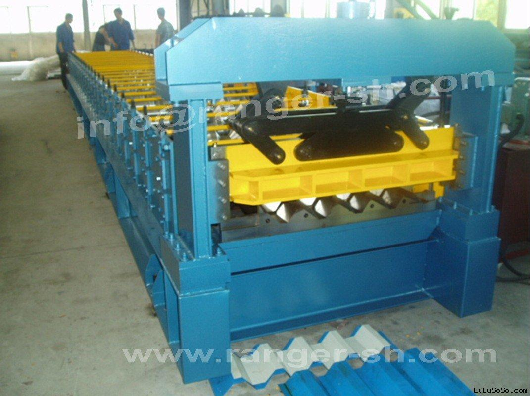 IBR Roof Sheet Forming Machine From Shanghai ALLSTAR