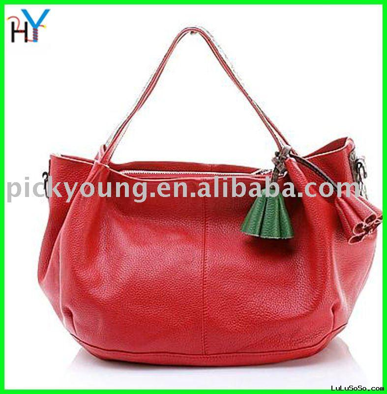 Leisure promotion genuine leather message bags,discount!
