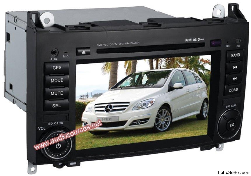 Mercedes Benz B200 car dvd player with GPS Navigation system