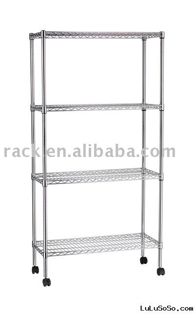 Metal Rack with Wheels