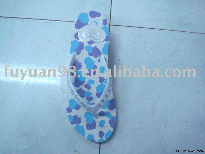 Rubber beach slipper
