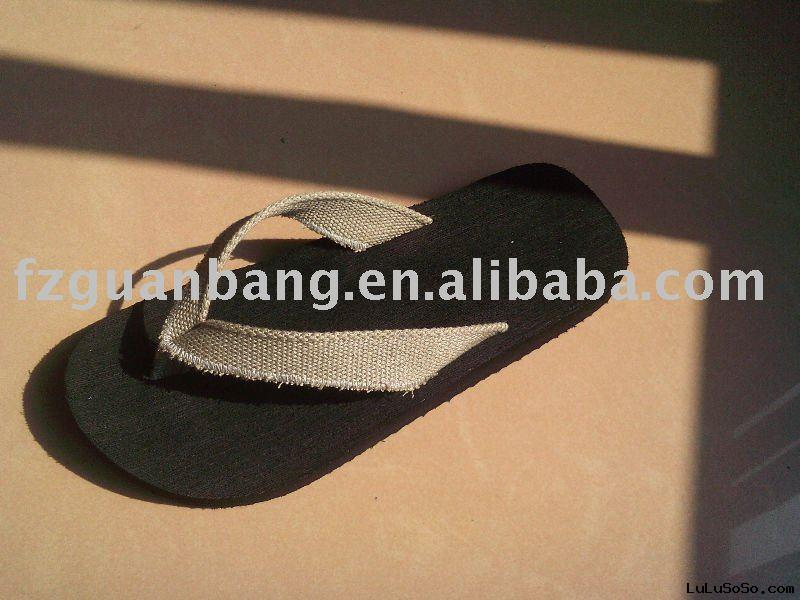 Simple hot Durable EVA beach slippers