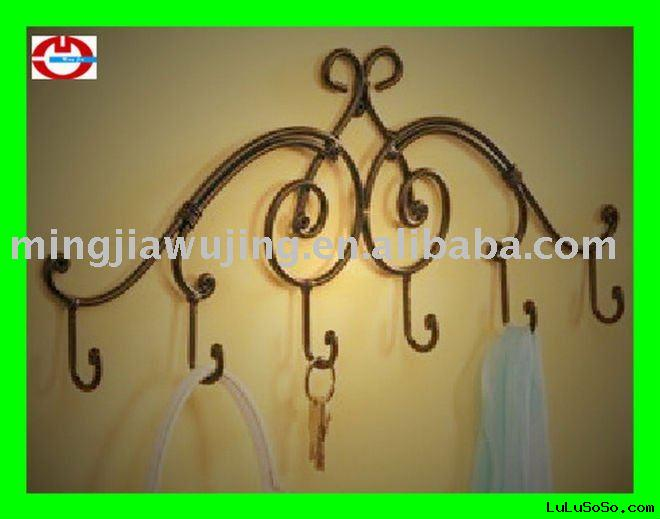 WROUGHT IRON clothes tree
