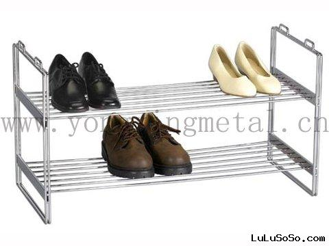 YX-SR003  2-tier  Metal shoes rack