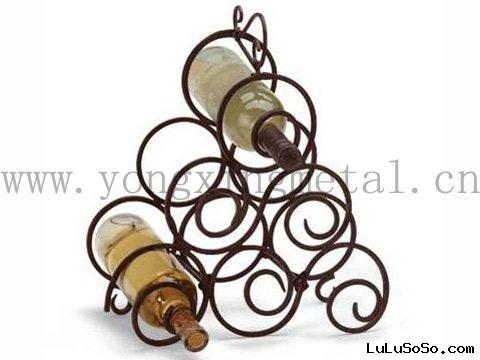 YX-WR002  Metal Wine Rack